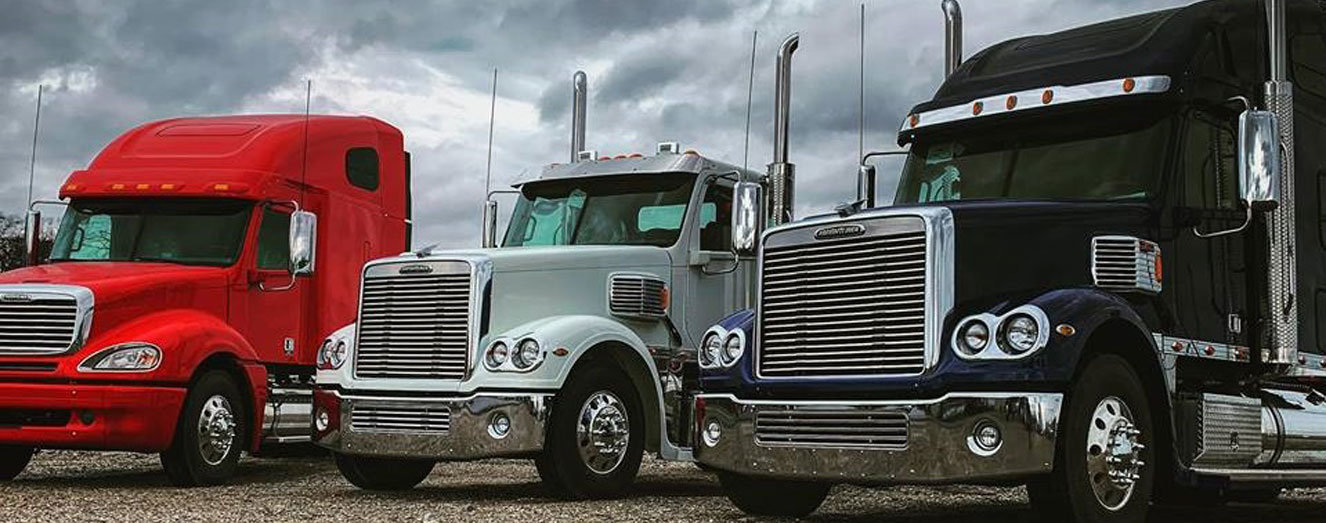 Peterbilt and Kenworth